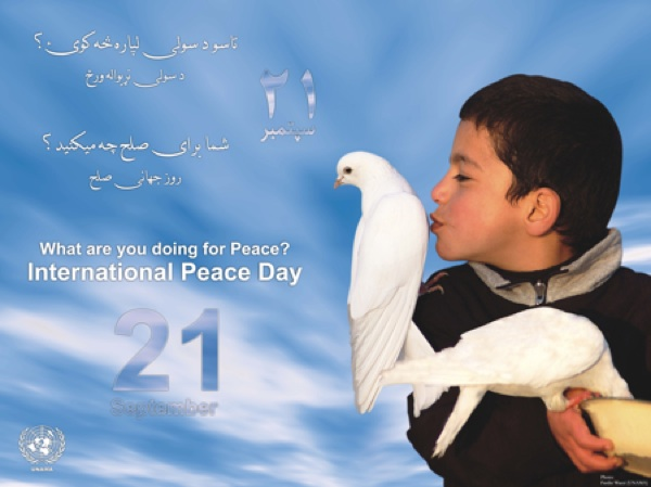 Peace Day in Afghanistan