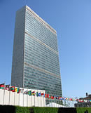 United Nations Headquarter in New York
