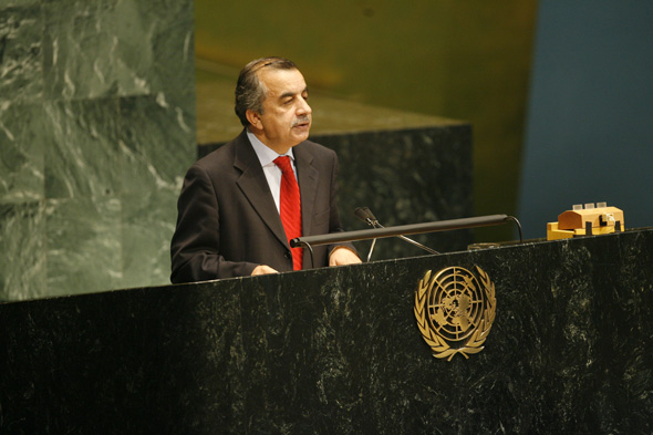 H.E. Dr. Zahir Tanin at 63 General Assembly of the United Nations