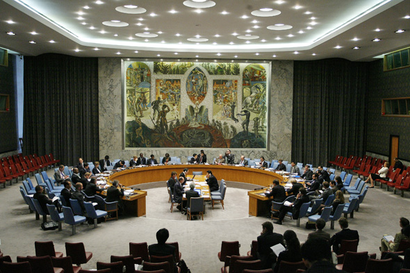 A view of the United Nations Security Council