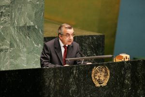 H.E. Dr. Zahir Tanin addresses General Assembly on the world financial and economic crisis and its impact on development