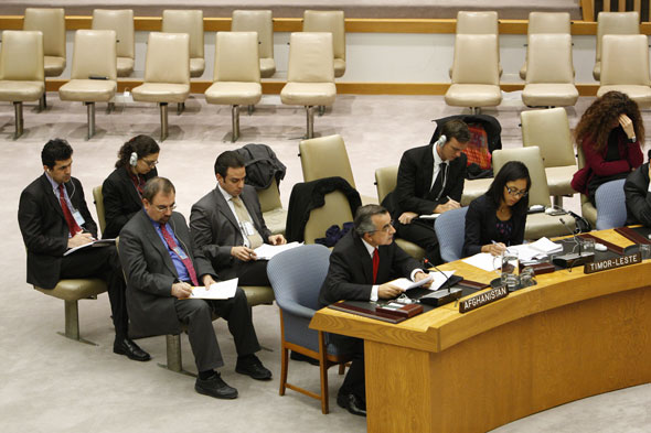 Ambassador Taning at the United Nations Security Council Meeting: Open debate on Post-Conflict peacebuilding on January 21, 2011.