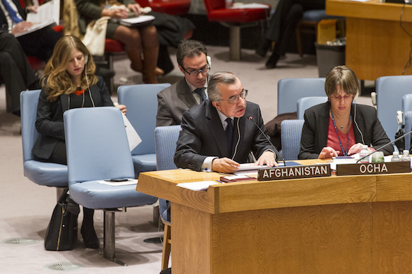 H.E. Zahir Tanin Ambassador, Permanent Representative of the Islamic Republic of Afghanistan at the United Nations Security Council Open Debate on the Protection of Civilians in Armed Conflict