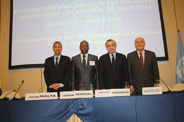 United Nations International Meeting on the Question of Palestine in Quito, Ecuador