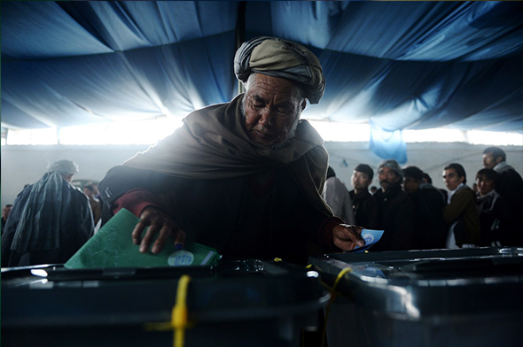 The Historic Elections Day in Afghnistan