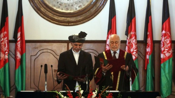 H.E. Dr. Mohammad Ashraf Ghani Ahmadzai is inaugurated President of the Islamic Republic of Afghanistan