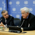 Press Conference organized by the Committee on the Exercise of the Inalienable Rights of the Palestinian People with Professor Noam Chomsky from the Massachusetts Institute of Technology