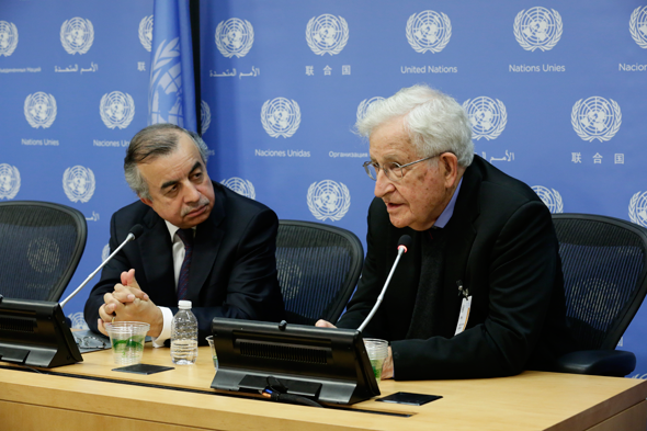 Renowned Intellectual Noam Chomsky Speaks on Palestinian Rights at the United Nations