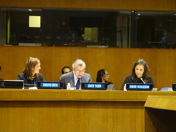 Ambassador  Tanin Discusses Access to Legal Aid in Criminal Justice Systems in Afghanistan at the United Nations
