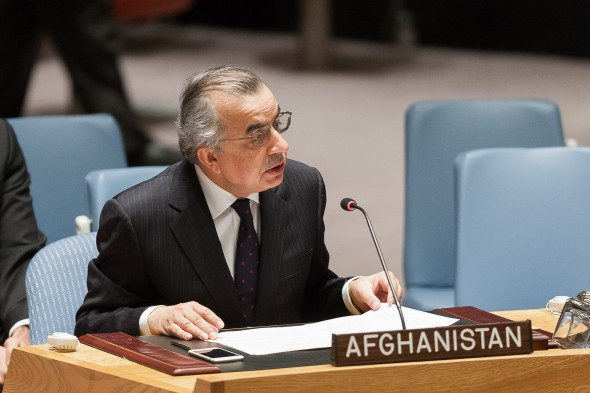Security Council MeetingThe situation in Afghanistan