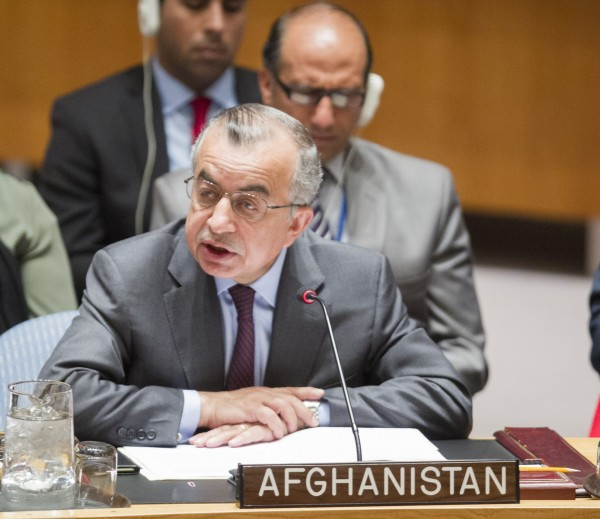 Afghanistan addresses the Security Council Meeting: The situation in Afghanistan Report of the Secretary-General on the situation in Afghanistan and its implications for international peace and security