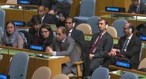 Afghan Delegates to the United Nations in New York.