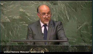 H.E. Mahmoud Saikal Ambassador, Permanent Representative of the Islamic Republic of Afghanistan to the United Nations