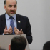 Ambassador Saikal addresses students at New York University